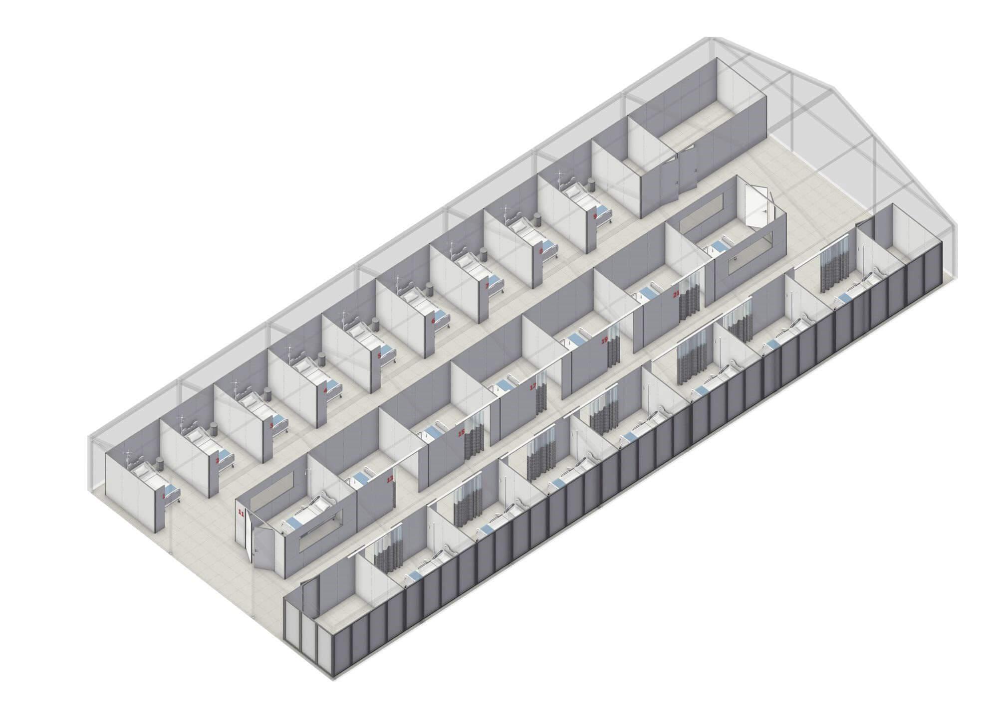 Ziekenhuis Tent 1