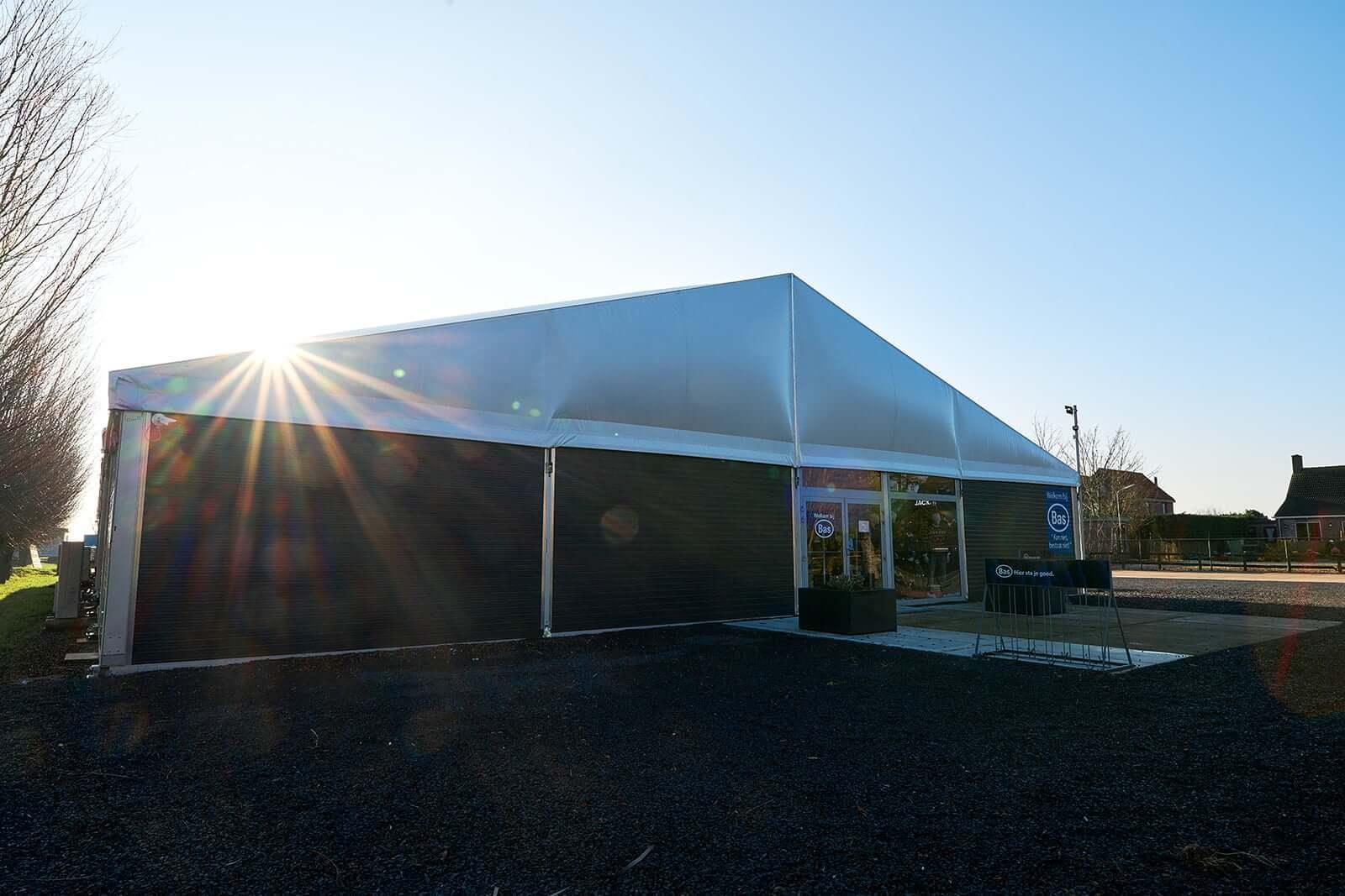 Aluminium Tent Bas van Zessen